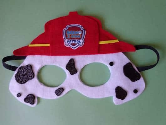 máscaras Patrulha Canina simples e fácil