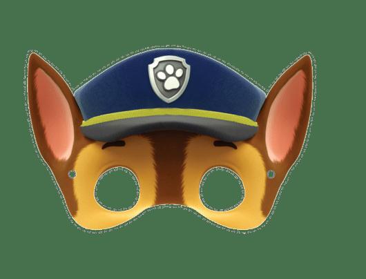 máscaras Patrulha Canina pronta para imprimir