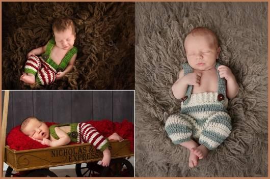 macacão de crochê para bebê sem manga