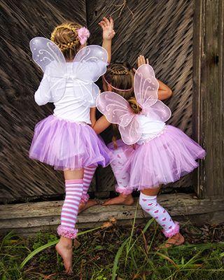 fantasias de fada infantil rosa com meias estampadas