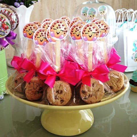 biscoito saudável para Festa Shopkins