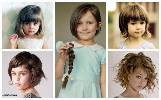 Corte De Cabelo Infantil Feminino 6 Estilos Dicas