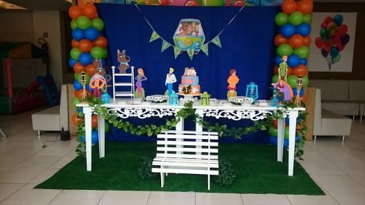 móveis provençais para Festa Scooby-Doo