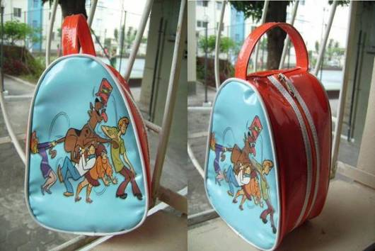 bolsa personalizada para Festa Scooby-Doo