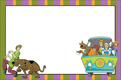 convite pronto para Festa Scooby-Doo