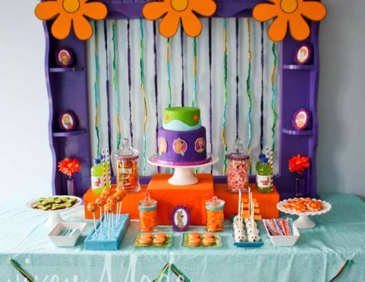 Festa Scooby-Doo como fazer