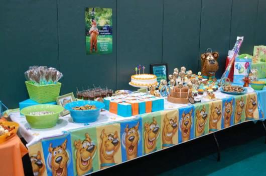Festa Scooby-Doo feita em casa