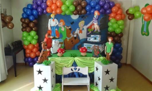 Festa Scooby-Doo estilo provençal