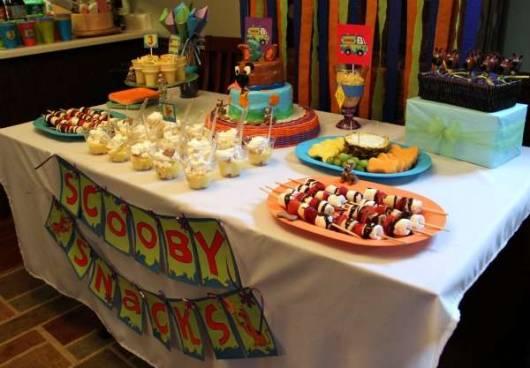 dicas para decorar Festa Scooby-Doo em casa