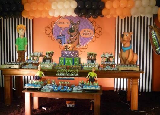 Festa Scooby-Doo provençal personalizada