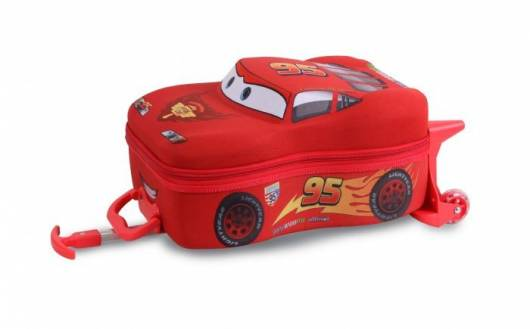 mochila Relâmpago McQueen carrinho