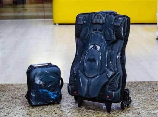 mochila e lancheira Batman