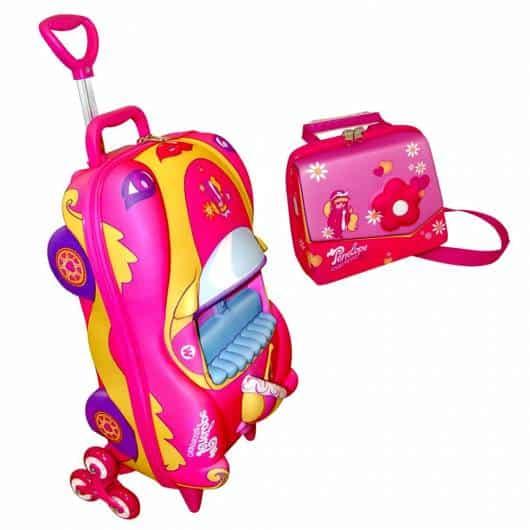 kit mochila e lancheira menina