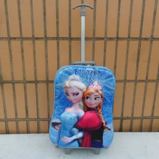 mochila azul Frozen
