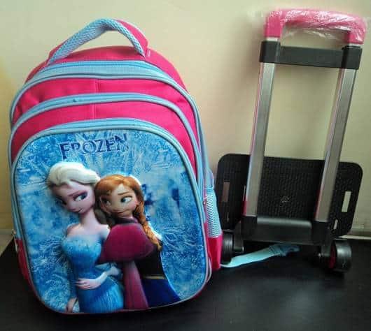 mochila Anna e Elsa