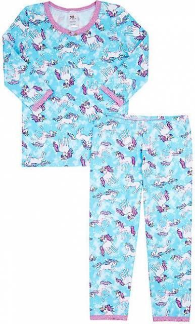pijama com calça azul