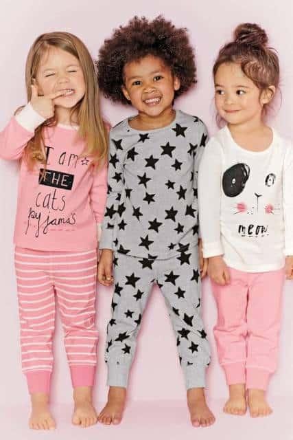 modelos de pijama de frio menina