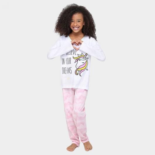 pijama de frio unicórnio
