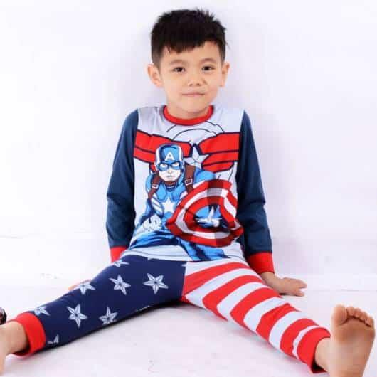 pijama de herói