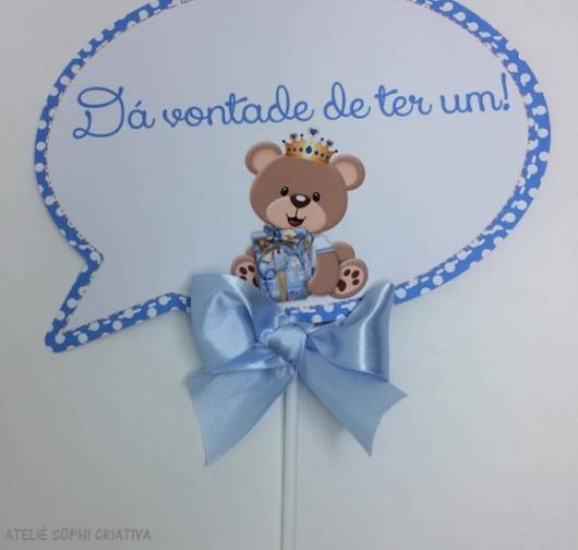 festa ursinho azul
