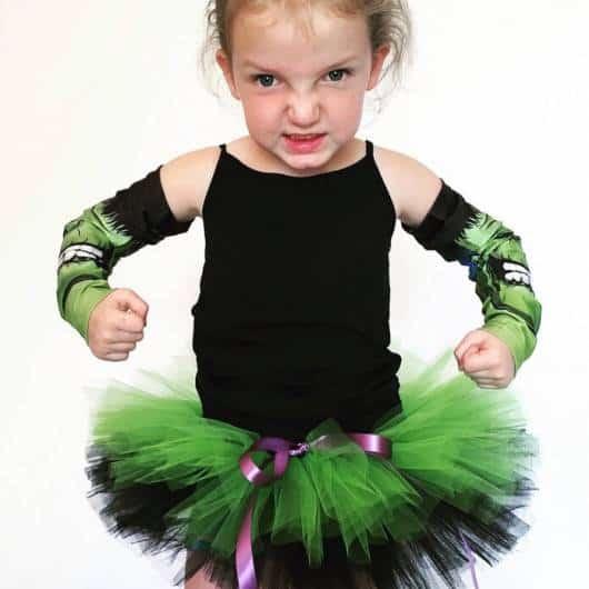 fantasia do Hulk Infantil customizada