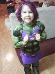 fantasia do Hulk Infantil para halloween