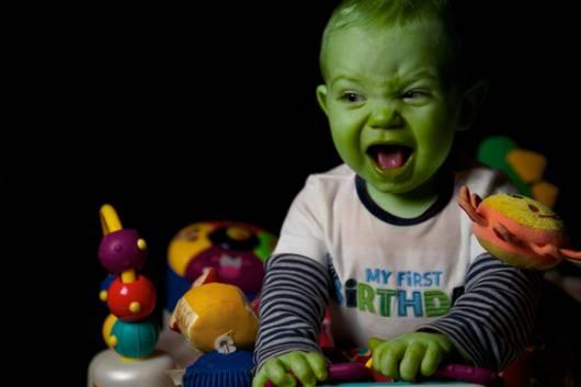 fantasia do Hulk Infantil de bebê