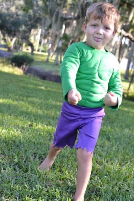 fantasia do Hulk Infantil comprada pronta