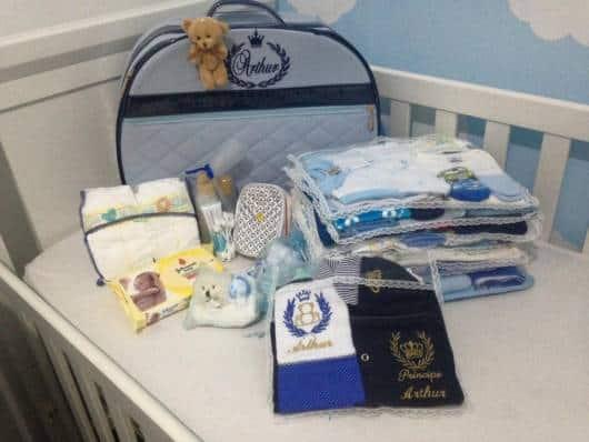 dicas para organizar uma mala de maternidade