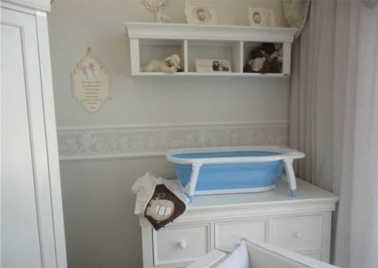 banheira dobrável quarto