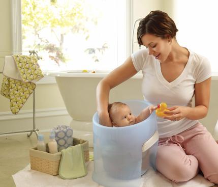 ofurô para bebê de plástico