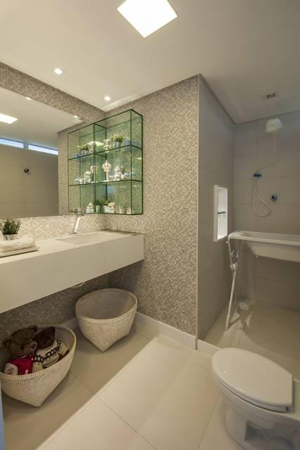 banheiro para bebês