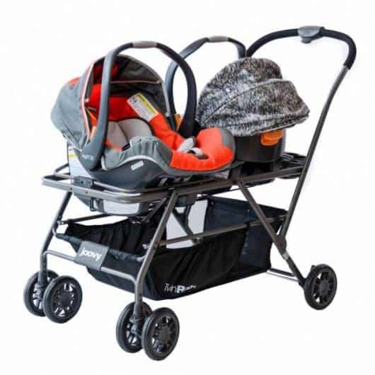 carrinho de bebê para gêmeos com cadeira removível