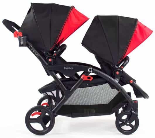 carrinho de bebê para gêmeos com dois andares