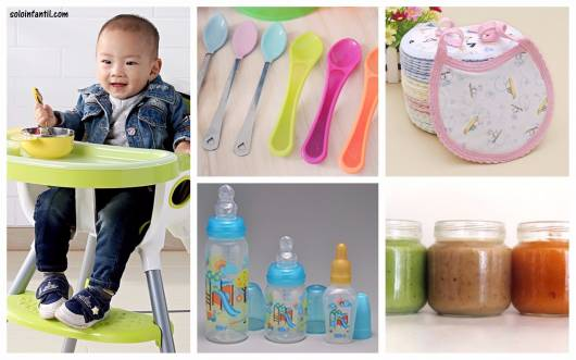 lista itens alimentação bebê