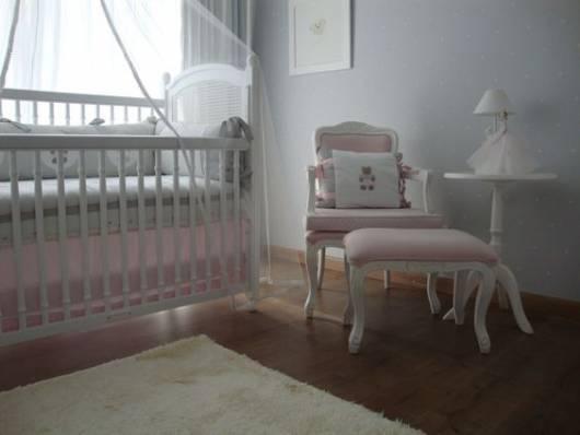 poltrona provençal rosa