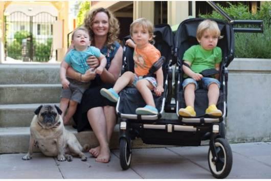 carrinho de bebê para gêmeos preto