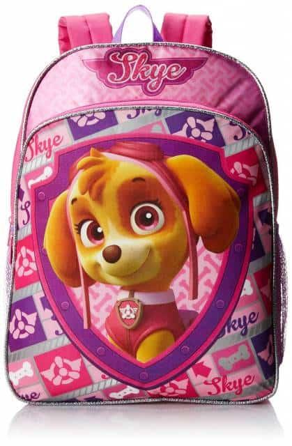 mochila patrulha canina skye rosa