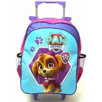mochila Patrulha Canina com rodinhas