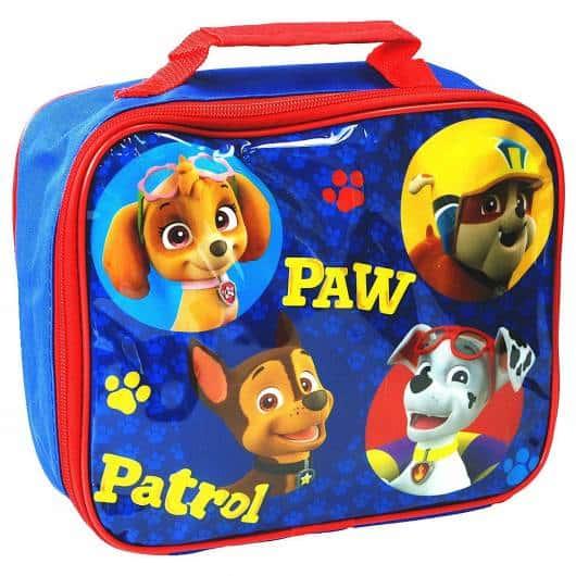 mochila Patrulha Canina para lanche