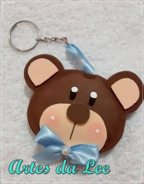 Chaveiro de urso.