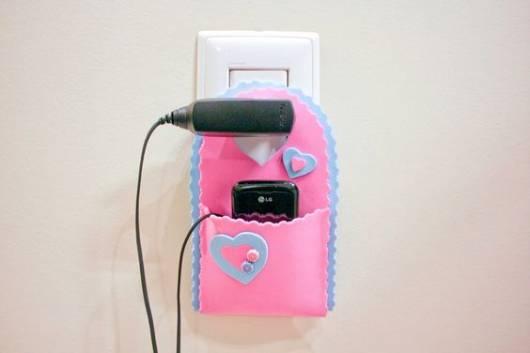 Porta celular de EVA.