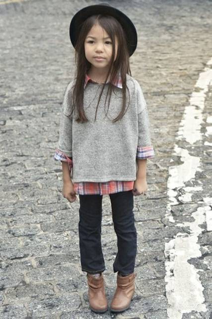 look infantil bota com calça