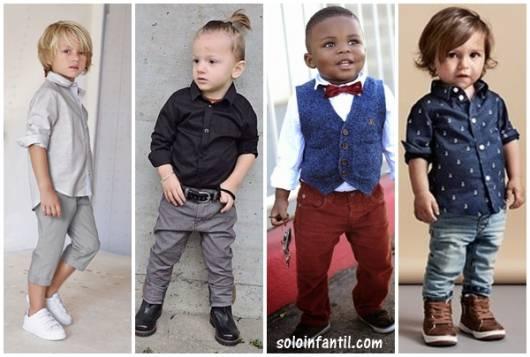 a423195e56 Camisa Social Infantil – 34 Looks Super Adoráveis   Onde Comprar!