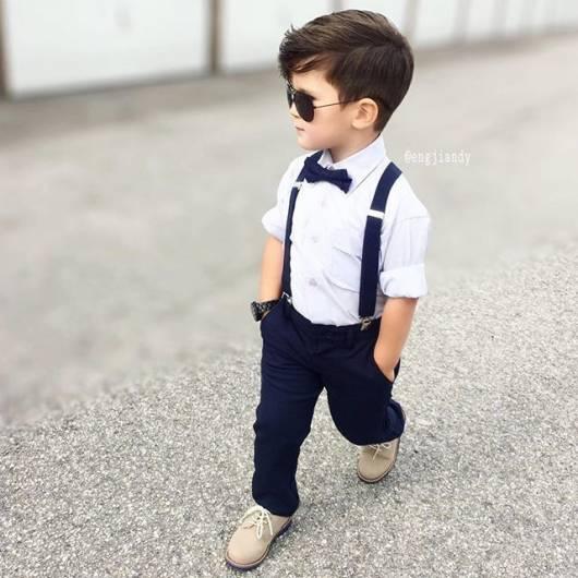 Camisa Social Infantil 34 Looks Super Ador Veis Onde