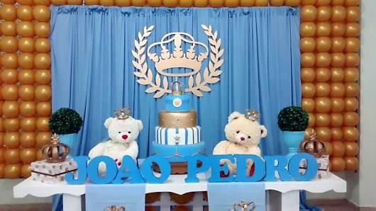Festa príncipe ursinho.