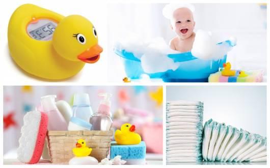 itens de higiene e banho
