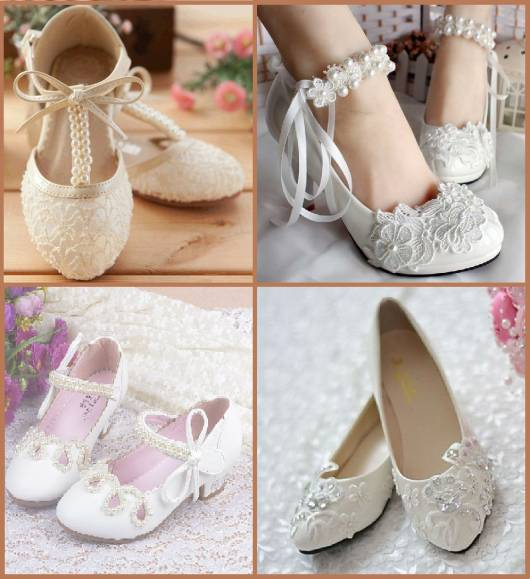 sapatos para compor o look infantil feminino