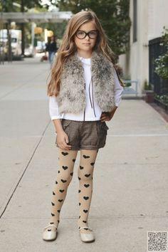 look infantil feminino inverno com shortinho
