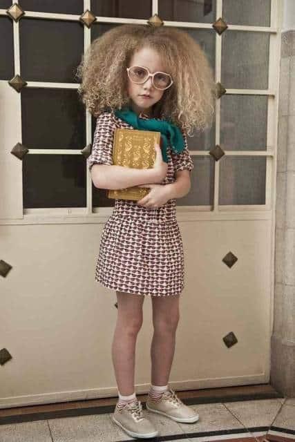 look infantil feminino com vestido curto